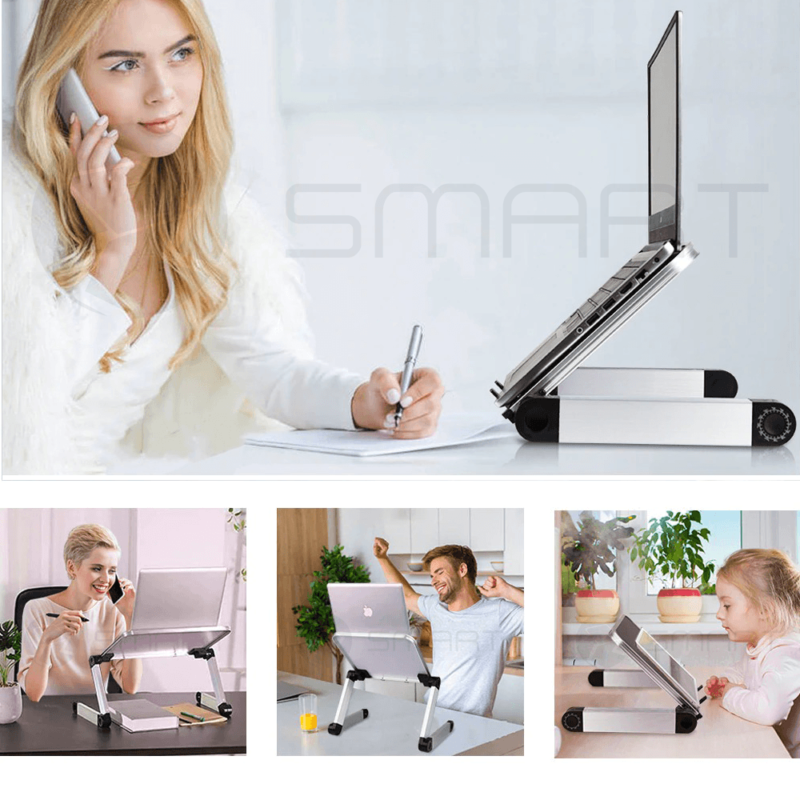 Smart Laptop Stands for Multiple Purposes